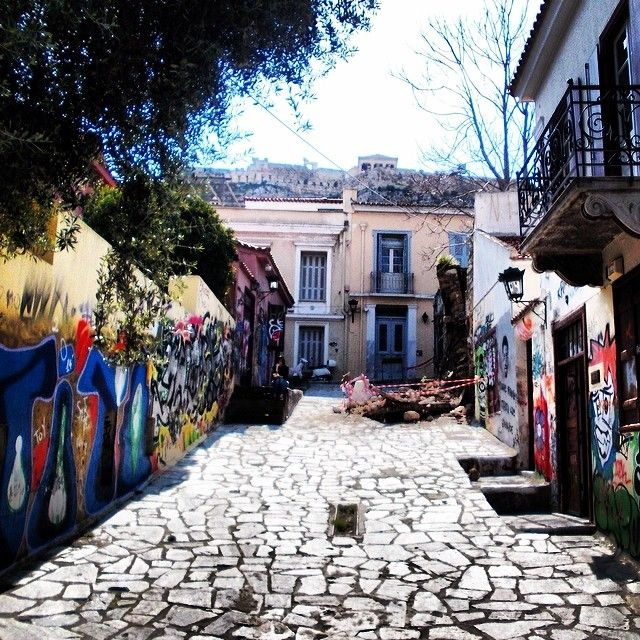 #Plaka. One of the oldest neighborhoods in #Athens! Photo taken by @ntmerln