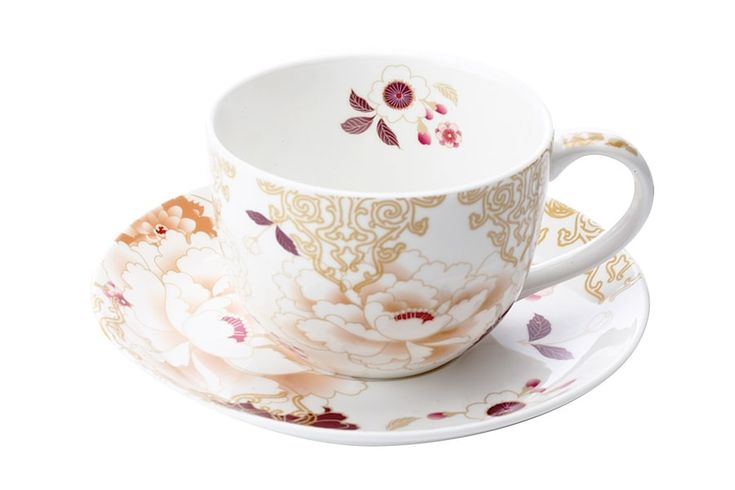 Чашка с блюдцем из костяного фарфора «Кимоно» (белый) в подарочной упаковке      Бренд: Maxwell & Williams (Австралия);   Страна производства: Китай;   Материал: костяной фарфор;   Объем чашки: 250 мл;          #bonechine #chine #diningset #teaset #костяной #фарфор #обеденный #сервиз #посуда  #обеденныйсервиз #чайныйсервиз #чайный  #чашка #кружка #набор #сервировка #cup #mug #set #serving #tea #чай