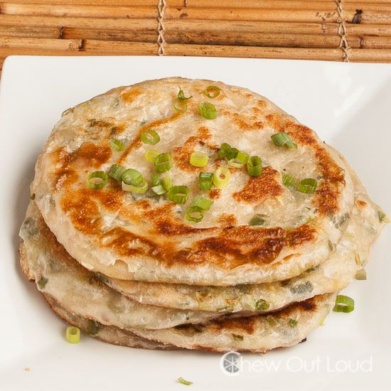Scallion Cakes Chinese Recipes