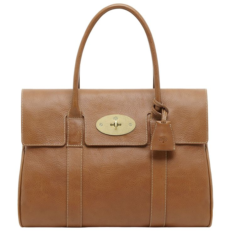 Buy Mulberry Bayswater Natural Veg Tanned Leather Grab Bag from our Handbags,  Bags & Purses range at John Lewis.