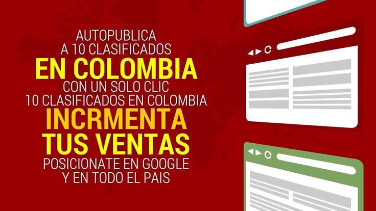 http://ift.tt/2dxNQLM Hola Imagina como llegarán tus productos ofertas y servicios a todo el país y de manera automatizada. Un cordial saludo a tí por estar viendo este video que te explica lo que hace nuestro software para tu marketing digital en toda la República de Colombia con un solo clic y en todas las ciudades.   Es un potente software que auto publica tus productos servicios y ofertas en todo el país y en estos clasificados. Puedes Adquirir tu software ahora mismo y lanzar tus avisos…
