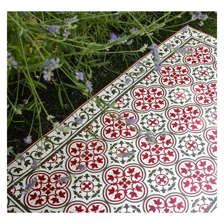 Beija Flor tapis vinyle carreaux de ciment Portugal