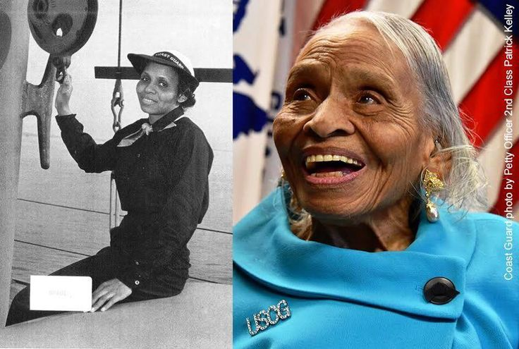 """Dr. Olivia Hooker became the first African American woman to enlist in the U.S. Coast Guard in 1945. To honor this trailblazer on her 100th birthday, the Coast Guard has named a building on Staten Island in her honor! At the ceremony this past Thursday, Coast Guard Commandant Admiral Paul Zukunft unveiled a plaque, stating: """"Dr. Olivia Hooker …is an inspiration and a hero to every member of the Coast Guard and our nation."""""""