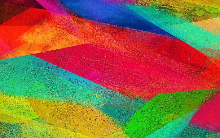 Télécharger fonds d'écran peinture frottis, 4k, créatif, matériau abstrait, le Galaxy Note 4