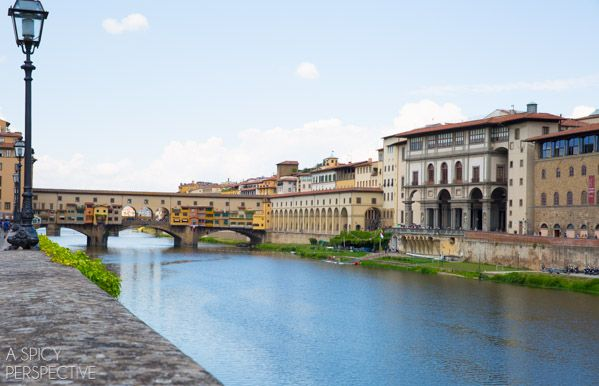 Ponte Vecchio - Florence, Italy. Wonderful memories of family travels