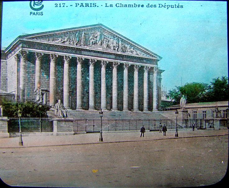 The Chamber of Deputies - Paris