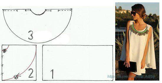 Ideas para el hogar: Capa costura y molde