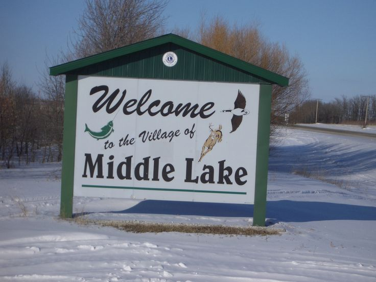 Welcome to the Village of Middle Lake!  #middlelake #lucienlake #fishing #wildlife