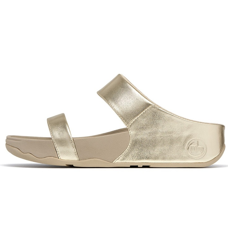 BeautyFeatures.ie - FitFlop Lulu Slide - Gold, €85.00 (http://www.beautyfeatures.ie/fitflop-lulu-slide-gold/)