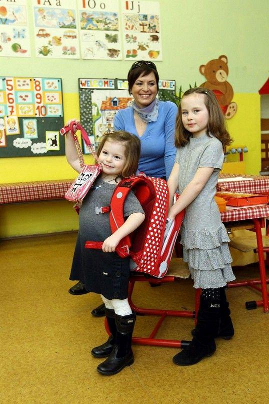 Siostra Violetty też chciałaby mieć tornister w kropeczki i zacząć już przygodę ze szkołą :-)