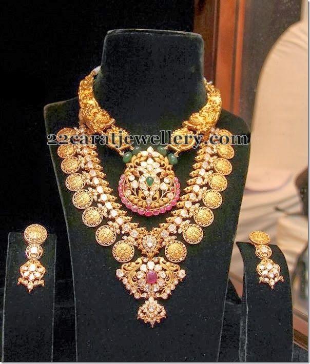 Jewellery Designs: Ram Leela Necklace by Tibarumal