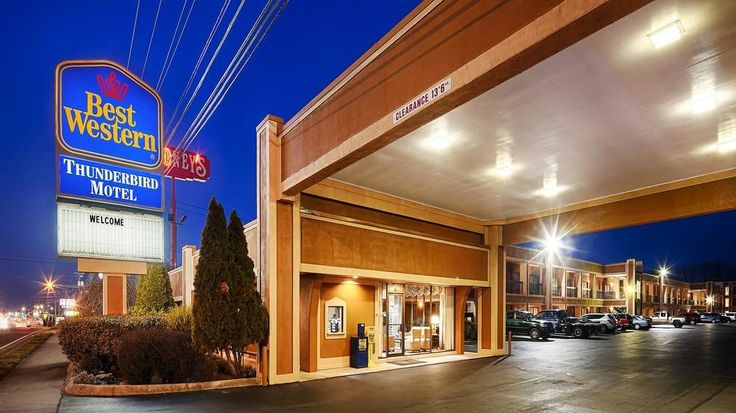 Best Western Thunderbird Motel - Cookeville, TN