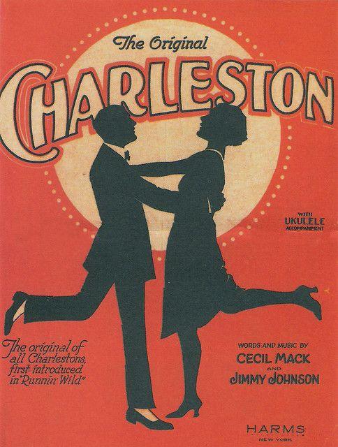 Der Modetanz der 20er: der Charleston - die Paare sahen dabei aus wie tanzende Pinguine