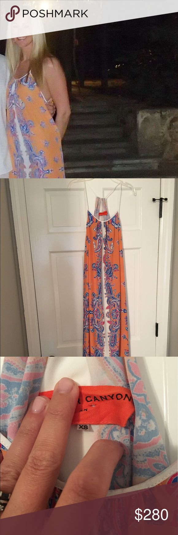 Used Clover Canyon Maxi XS No Flaws Used Clover Canyon Maxi XS No Flaws Clover Canyon Dresses Maxi