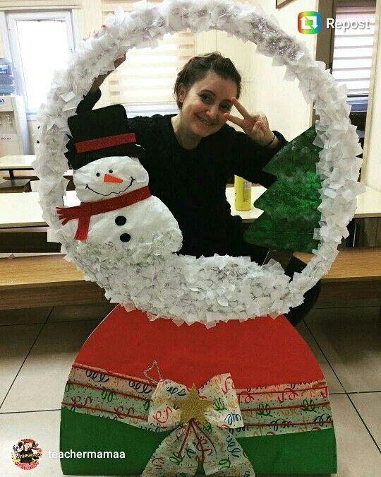 Snow Globe Picture Frame Cute Parent Gift Idea Teen Pinterest