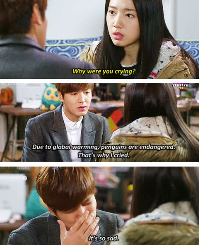 "Lee Min Ho and Park Shin Hye ♡ #Kdrama - ""HEIRS"" / ""THE INHERITORS"" // LOL"