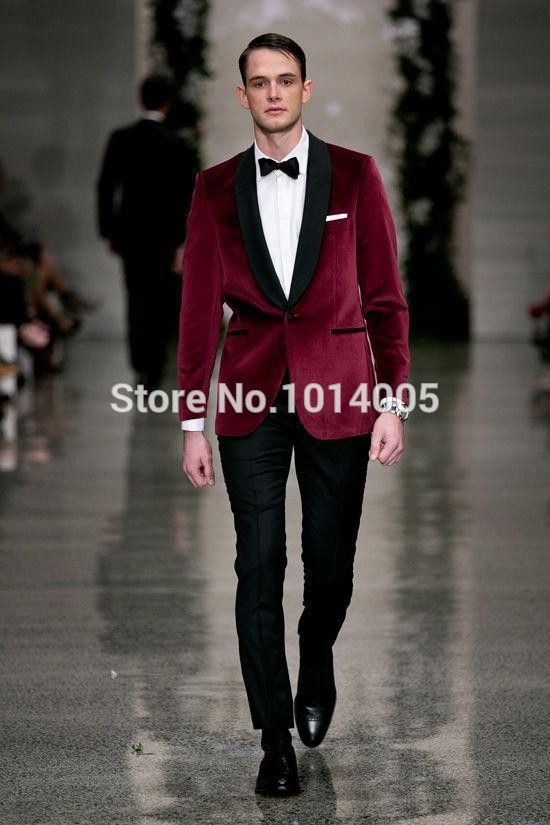 Find More Suits Information about Custom Suit Morning style Red 2 button Groom Tuxedos mens wedding suits best man suits with Black bow tie (Jacket+Pants+Tie),High Quality suit jacket pattern free,China suit fashion Suppliers, Cheap suit from Suzhou International Garment Ltd on Aliexpress.com
