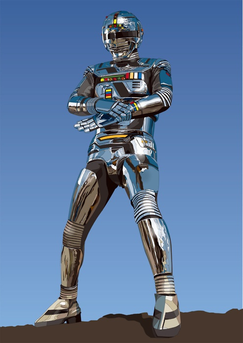 Space Sheriff Gavan by dias.