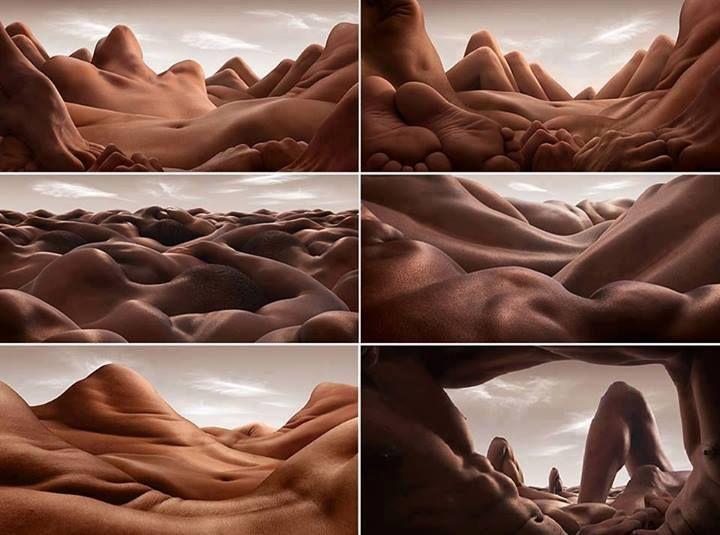 Bodies by Carl Warner