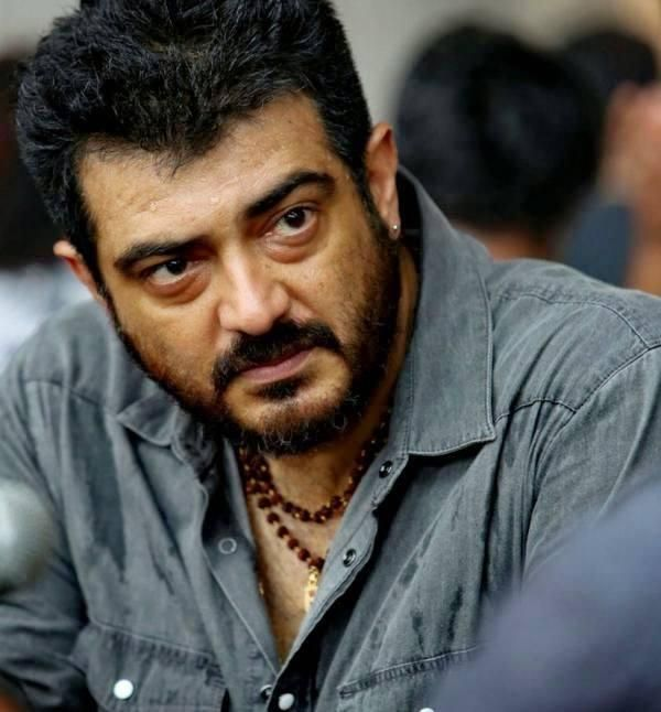 Ajith Kumar Rugged Look