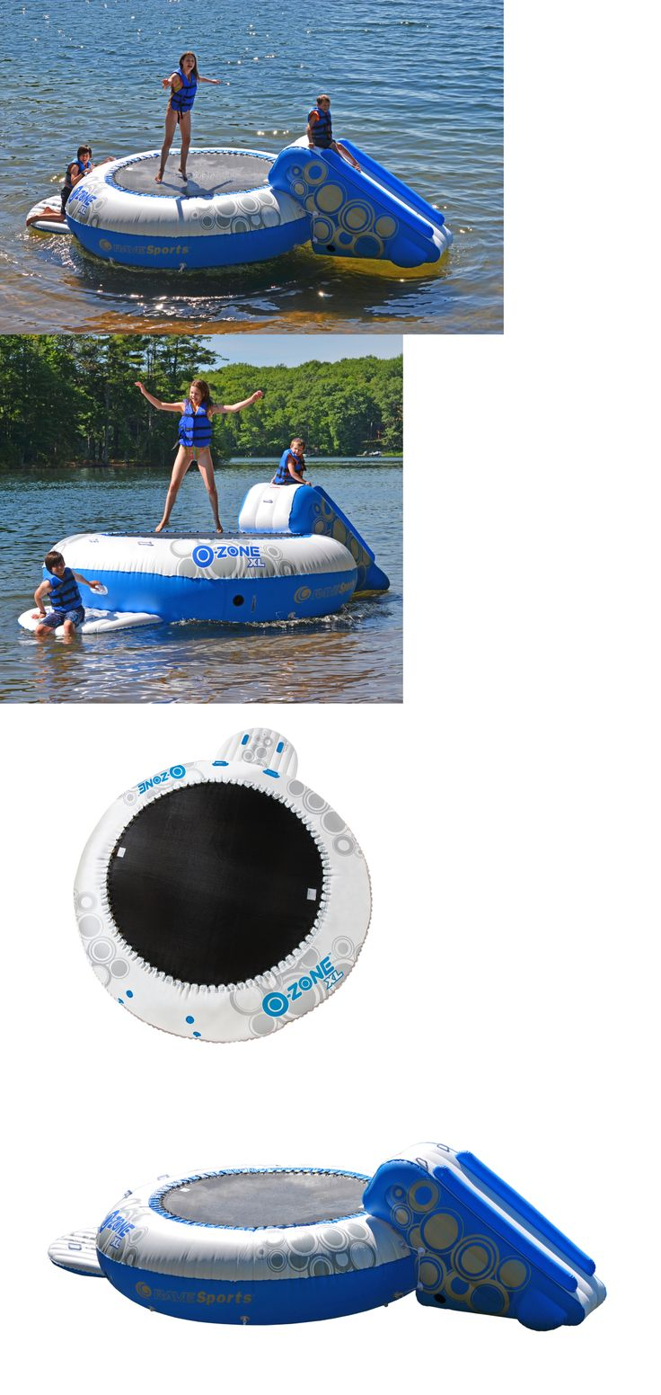 Inflatable Floats and Tubes 79801: Inflatable Water Trampoline Kids Adults Floats For Lake Pond Beach Raft Dock Toy -> BUY IT NOW ONLY: $634.99 on eBay!