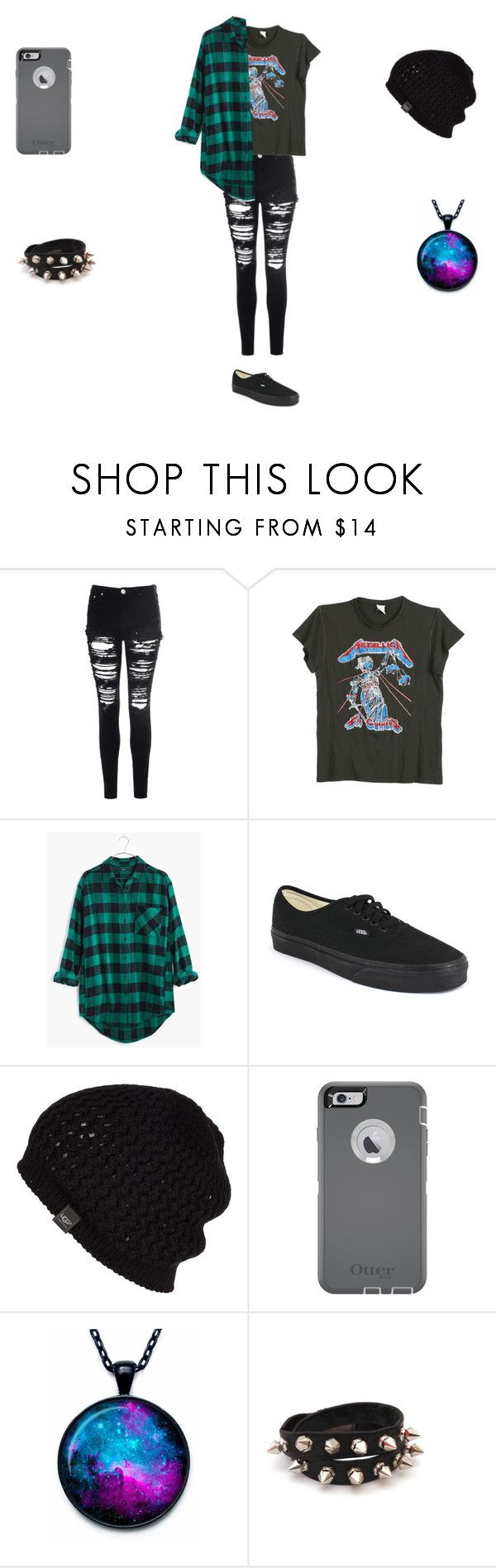 """Michael"" by roxas-lightwood ❤ liked on Polyvore featuring Glamorous, MadeWorn, Madewell, Vans, UGG Australia, OtterBox, women's clothing, women's fashion, women and female"