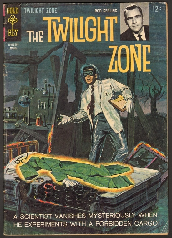 The Twilight Zone Comic #20 Publisher: Gold Key Comics Date: March 1967