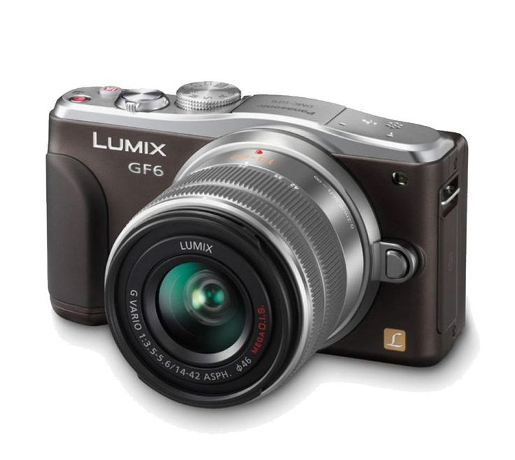 Panasonic Lumix DMC-GF6. Comes with a 180-degree-tiltable LCD and enables unlimited artistic expression with a variety of creative filters, with new feature new self shot, perfect camera for you who like selfie. The Lumix DMC-GF6 compact mirror less digital camera delivers amazing image. http://www.zocko.com/z/JH0WK