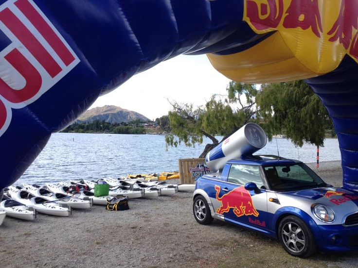 Red Bull Defiance - Lake Wanaka, January 20/21st 2018. Red Bull Defiance is a unique, two-day race format combining running, kayaking and mountain biking mixed with special stage elements, abseiling and clay bird shooting.