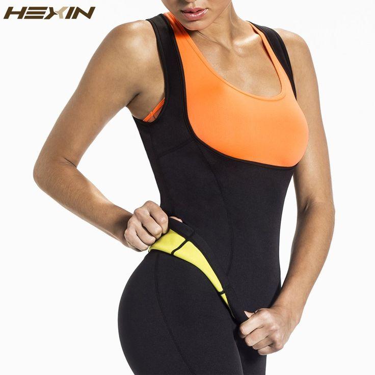 HEXIN Plus Size Neoprene Sweat Sauna Trainer Vest Corset - CoolTrendyStuff