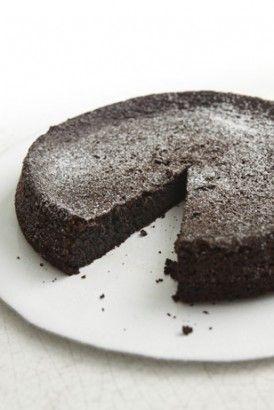 Nigella Lawson's Chocolate Olive Oil Cake (no wheat or dairy)