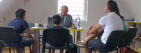 Evaluarea abilităților copiilor cu prof.dr.Florian Colceag