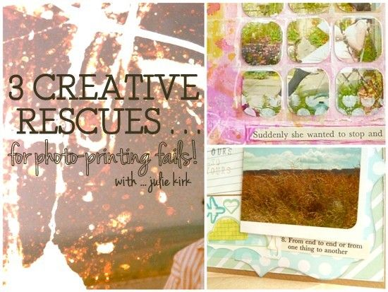 3 Creative Rescues for Photo-printing Fails