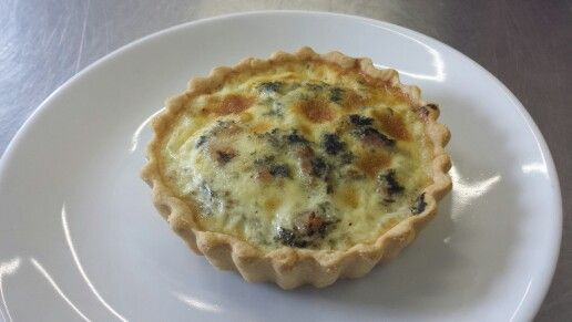 Bacon, cockle and laverbread tarts to add to our new Welsh bed and breakfast menu