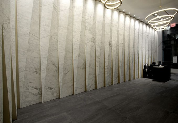 Waitex Fashion Tower Lobby, design by GRT Architects<br>Photograph by Naho Kubota
