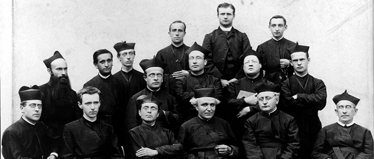 in 1877 a group of exiled Italian Jesuits founded a small school called Las Vegas College in New Mexico, today know as Regis.