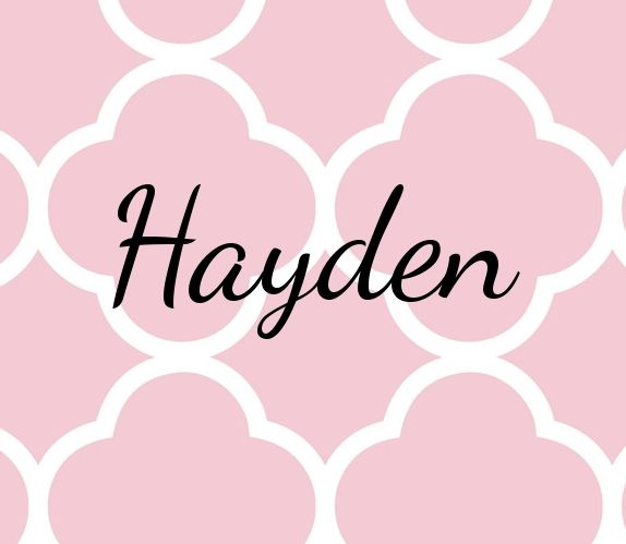 Cute Baby Names Girl Hayden