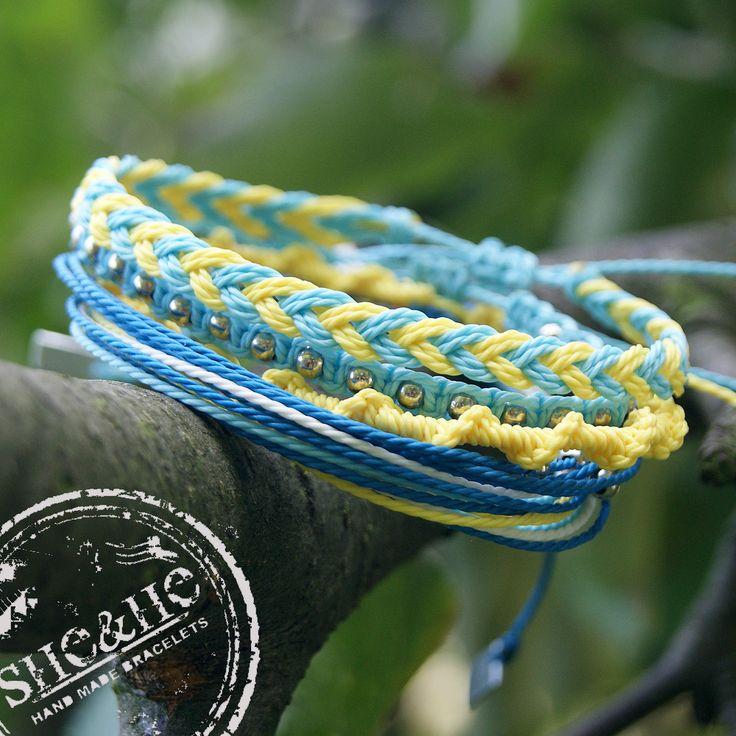 hand made friendship bracelets, macrame bracelets, strings bracelets, sieraden, jewelry, schmuck, armbanden