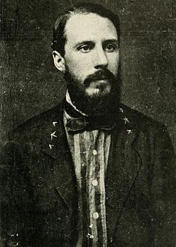Edward Porter Alexander served during the American Civil War (1861-1865), in the Confederate Army, in which he rose to the rank of brigadier general. Alexander was the officer in charge of the massive artillery bombardment preceding Pickett's Charge, on the third day of the Battle of Gettysburg.