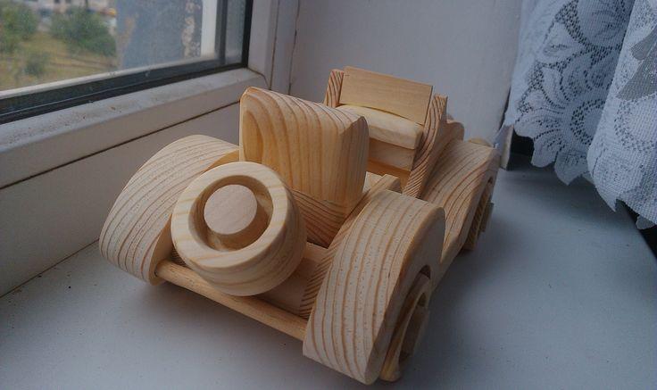 модель из дерева