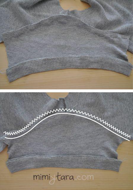 coser manga sueter