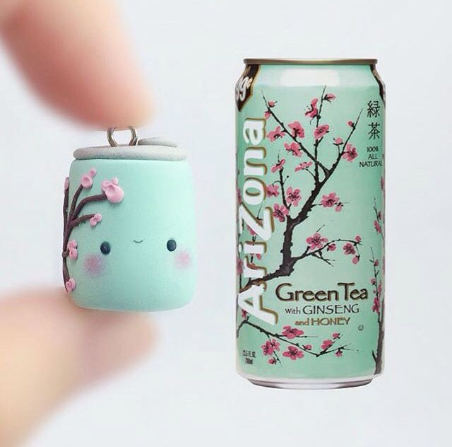 Arizona Green Tea en pâte Fimo