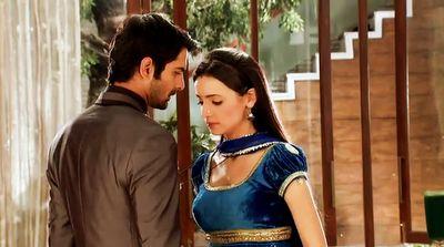 The legendary couple of small screen. Barun and Sanaya