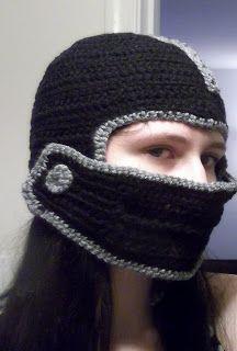 Helmet crochet pattern. It needs a little work but its ...
