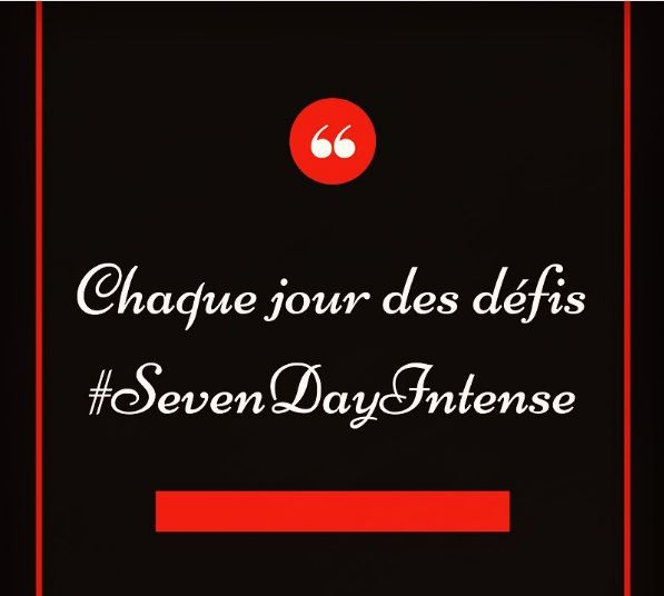 Fondatrice du site: https://prendstavieenmainblog.wordpress.com  Durant 7 jours des défiis #Challenges #Motivation