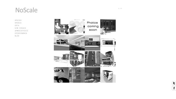 no scale architecture team  #webdesign #facebook_page #clean_design #whitespace #architecture #portfolio