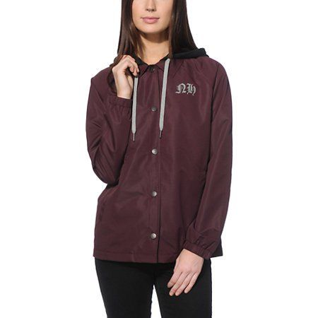Married To The Mob Black Windbreaker at Zumiez : PDP