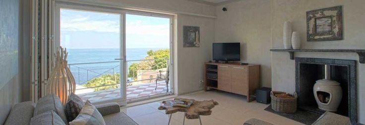 This is the ocean view from the Panorama Suite at Ocean View Guest House, stylish, open, contemporary with a distinct african feel. #decor #room #accomodation #hotel #guesthouse #view #ocean #campsbay #stay #beourguest