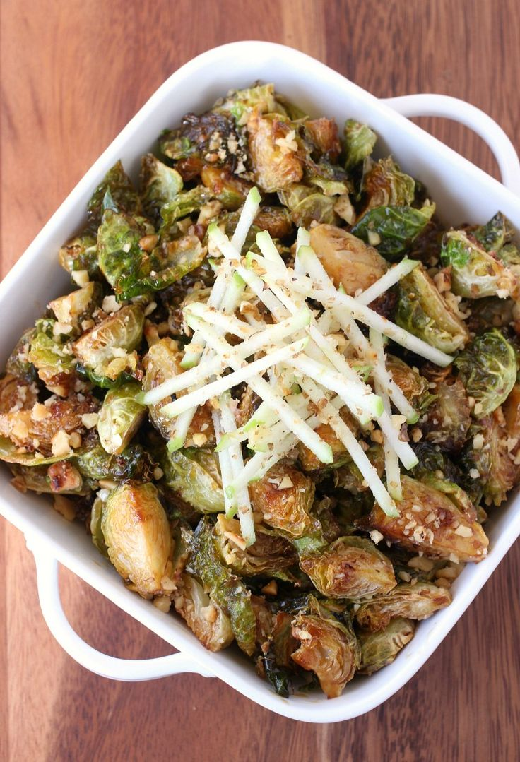 Make these Fried Whiskey Glazed Brussels Sprouts for your Thanksgiving dinner!