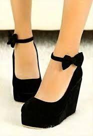 modern dolgu topuklu ayakkabı ile ilgili görsel sonucu